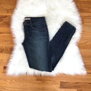 J Brand Phoebe Skinny Ankle Zipper Jeans